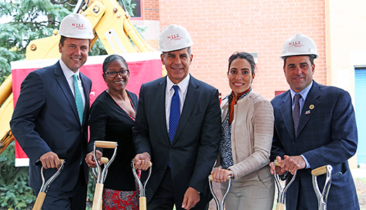 Legislation in Action: NJIT Breaks Ground on Science, Engineering Facility Funded by Kean's 'Building Our Future Bond Act'
